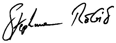 Signature Stéphane Regis REUNION FINANCEMENT
